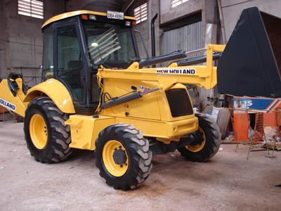 Retroescavadeira new holland lb110 4x4