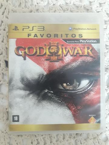 Vendo jogo original ps3 god of war 3