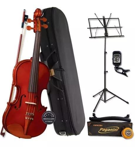 Violino eagle 3/4 ve431 com estojo térmico kit c/