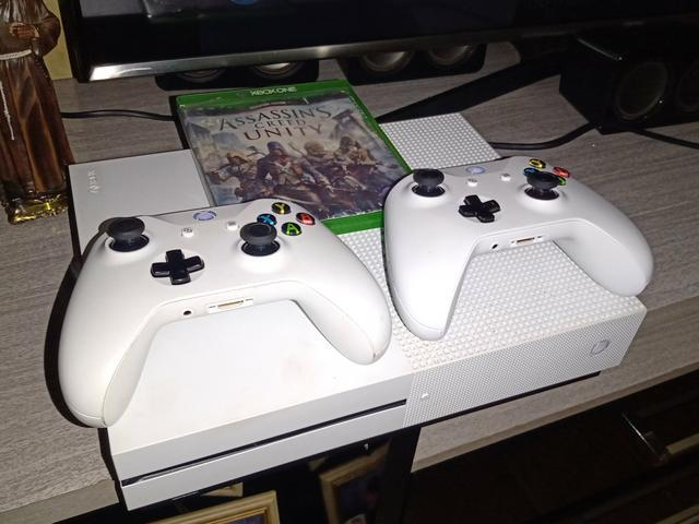 Xbox one s c/57 jogos anápolis.leia