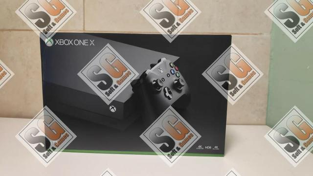 Xbox one x 1tb aceito cartão com garantia