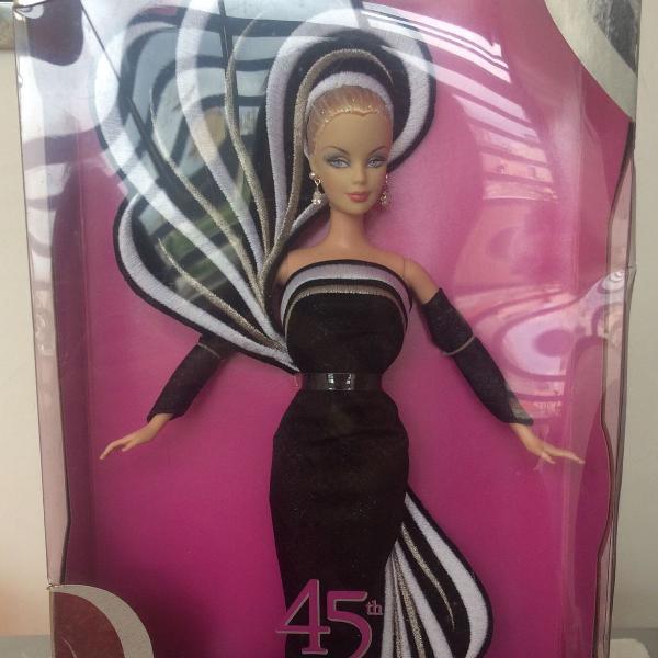 Barbie de coleção 45th anniversary bob mackie