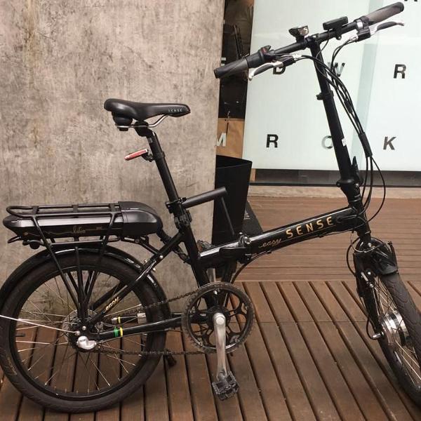 Bike elétrica - dobrável