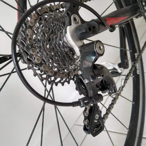 Bike speed coluer 54 câmbio shimano 105 11 velocidades