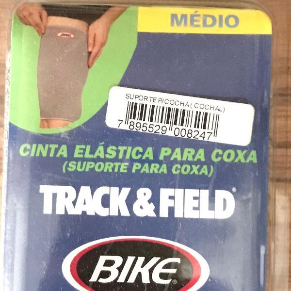 Cinta elastica para coxa, coxal, suporte para coxa - bike -