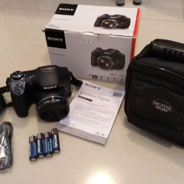 Câmera sony h 300 - cyber shot