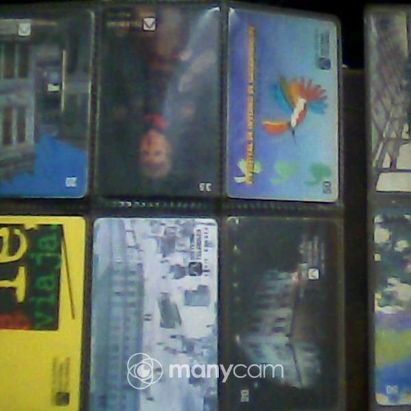 Coleção 60 cartões telefônicos