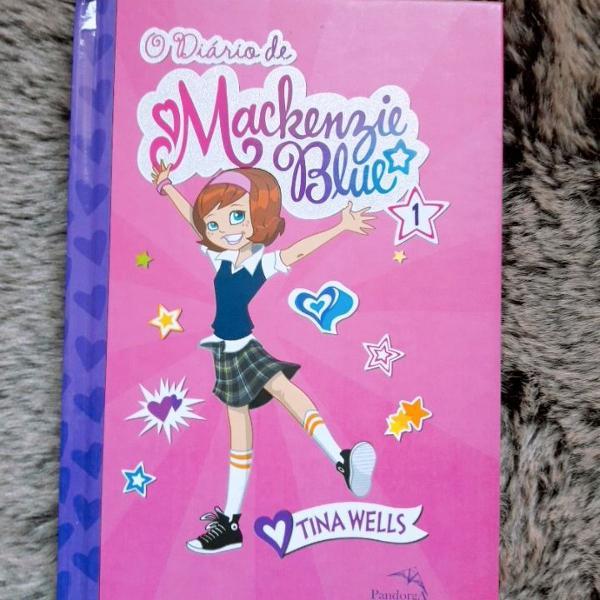 Coleção de livro mackenzie blue
