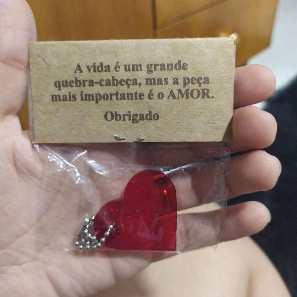 Coração para lembrancinha