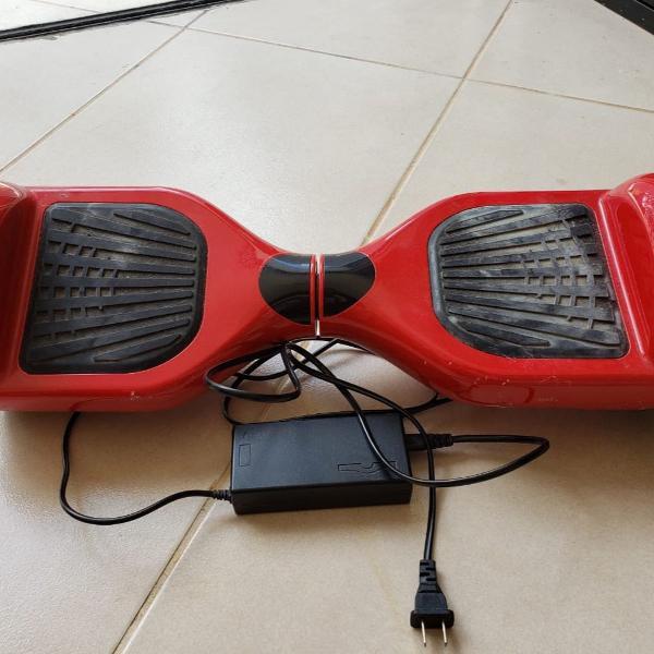 Hoverboard vermelho