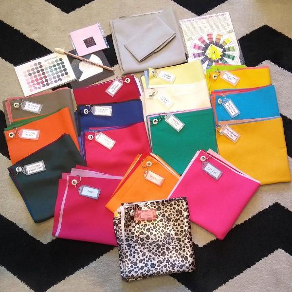 Kit de coloração pessoal com-ple-to!