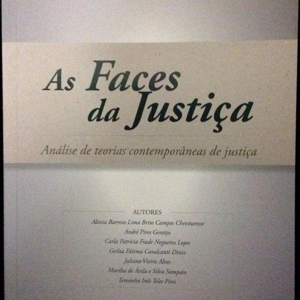 Livro as faces da justiça