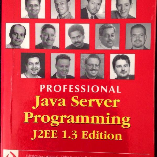 Livro professional java server programming j2ee 1.3 edition