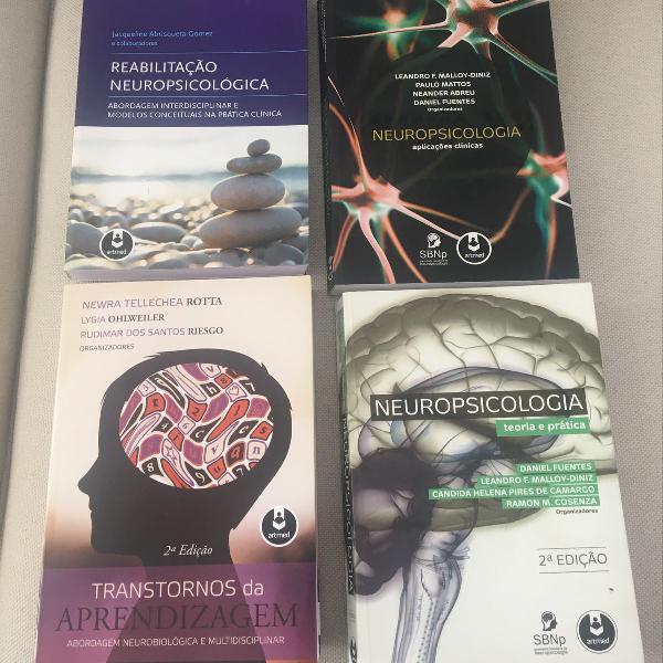 Livros neuropsicologia artmed