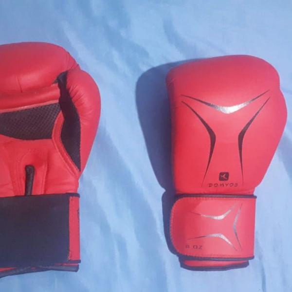 Luva de boxe ou muay thai tamanho 10 oz