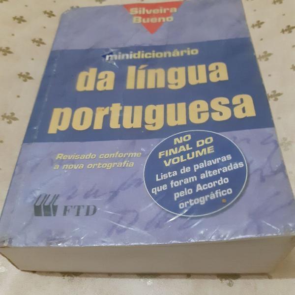 Minidicionário da língua portuguesa - silveira bueno