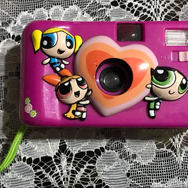 Máquina fotográfica meninas super poderosas