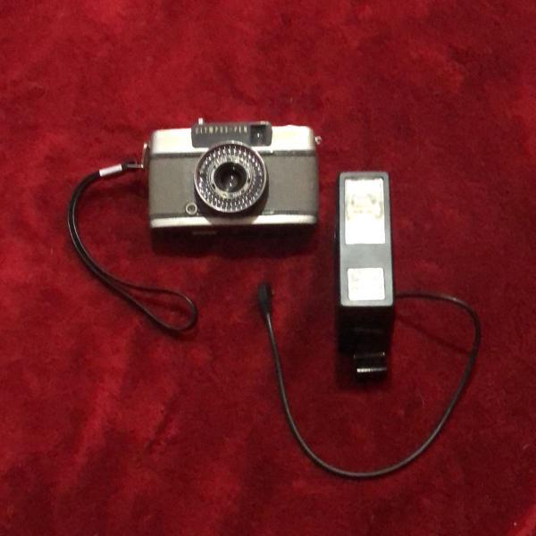 Máquina fotográfica olympus-pen