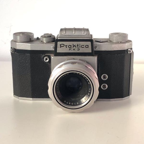 Máquina fotográfica vintage