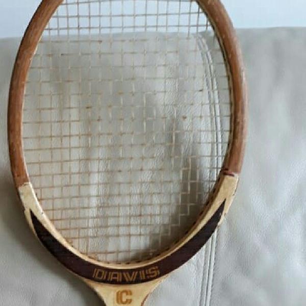 Raquete tênis década 70