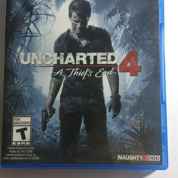 Uncharted 4 ps4 físico