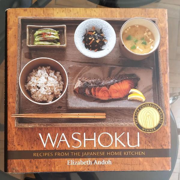 Washoku livro de receitas japonesas