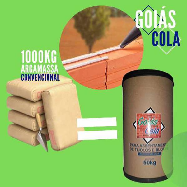Argamassa polimérica - goiás cola