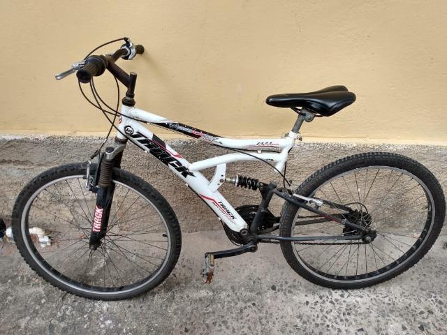 Bicicleta aro 26 mountain bike track bikes 21 machas