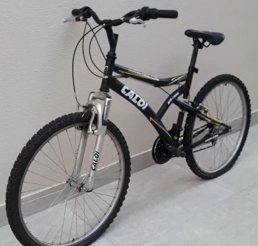 Bicicleta caloi andes - shimano