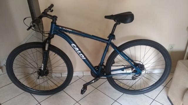 Bicicleta caloi explorer aro 29 usada - excelente