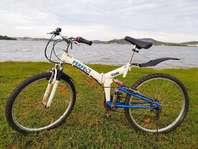 Bicicleta dobravel aro 26 japan