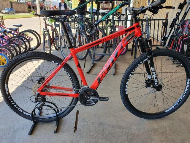 Bicicleta aro 29 spitze com kit transmissão 27v e freio