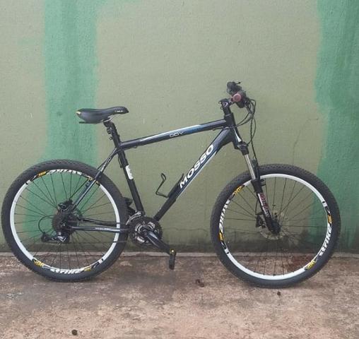 Bicicleta para ciclismo mosso