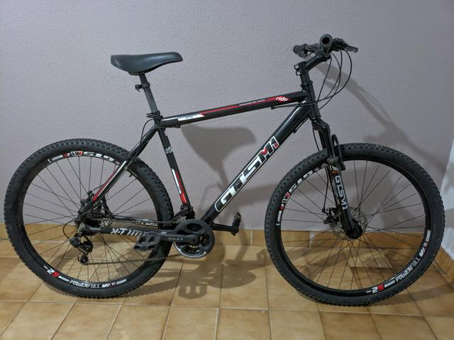 Bike gts m1 aro 29 com nota fiscal / bicicleta top toda