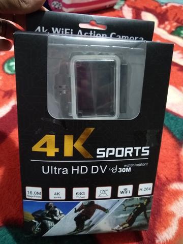 Camera filmadora wi-fi 4k