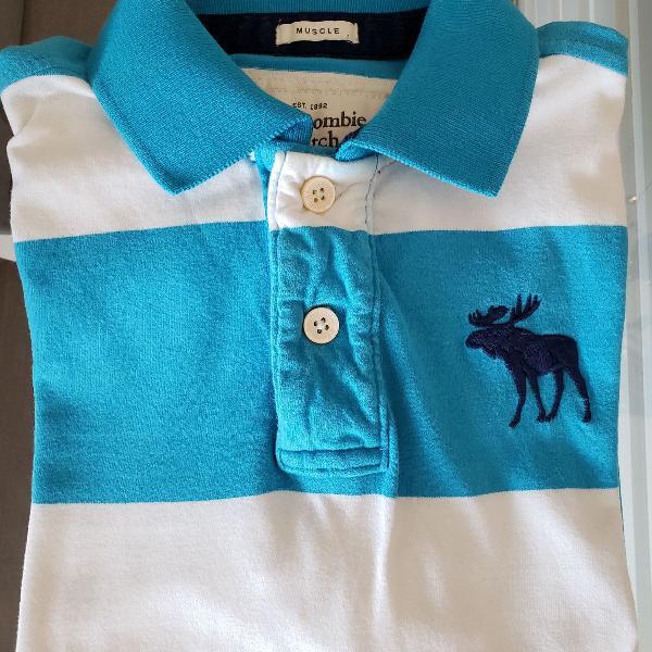 Camisa polo abercrombie - original, tamanho m