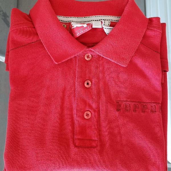 Camisa polo ferrari puma - original, tamanho s (p)