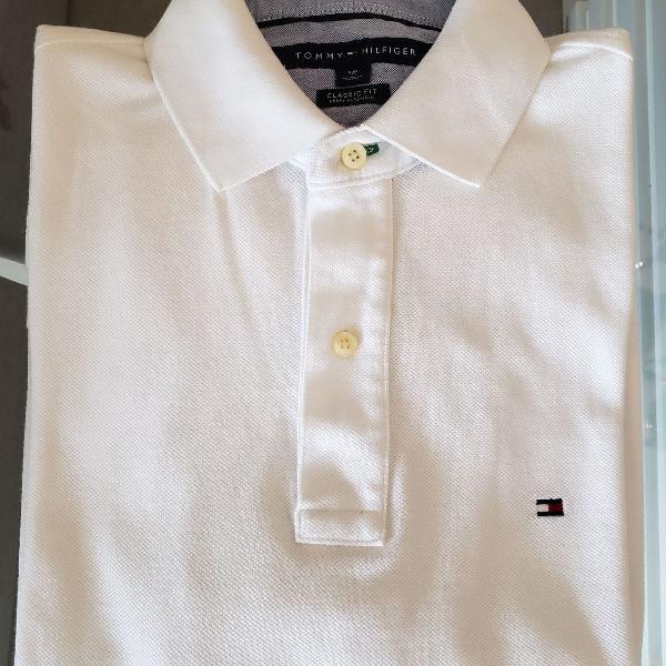 Camisa polo tommy hilfiger - original, tamanho s (p)