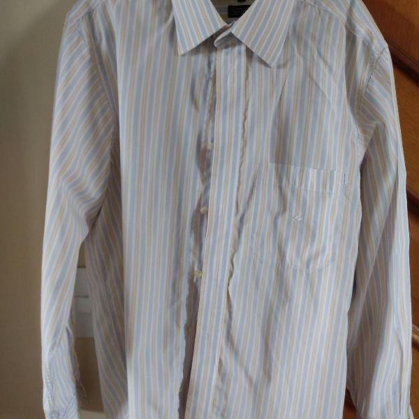 Camisa manga longa brooksfield tamanho 3