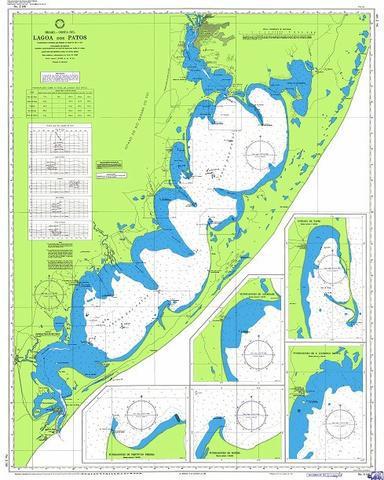 Cartas náuticas de papel digitalizadas (envio por e-mail)