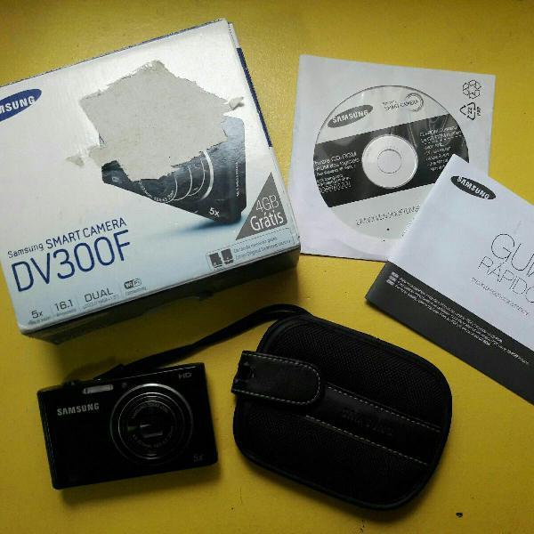 Câmera samsung dv 300f