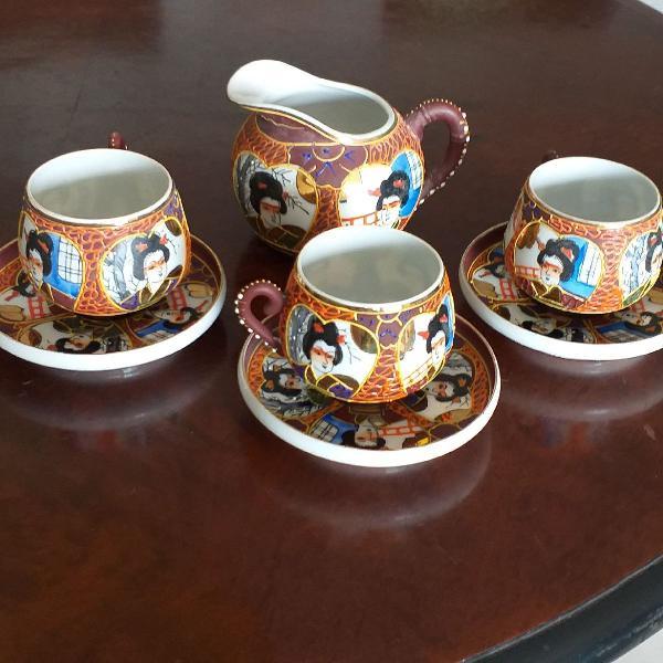 Conjunto de chá japonês