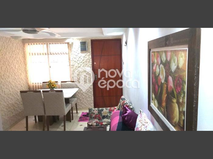 Del Castilho, 2 quartos, 1 vaga, 50 m² Rua Lagoa Redonda,