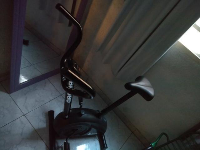 Esteira ergométrica + bicicleta