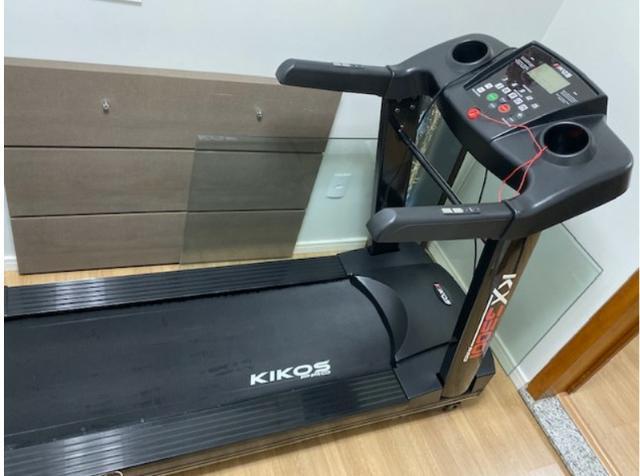 Esteira ergométrica profissional marca kikos - modelo