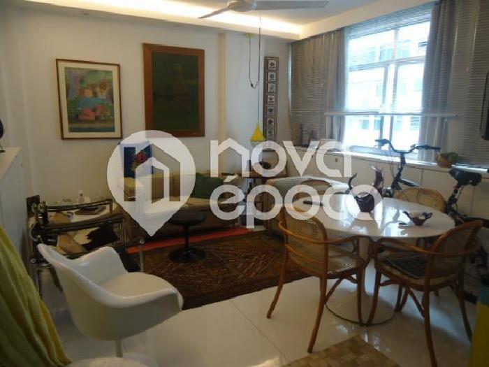 Leblon, 1 quarto, 50 m² Avenida Ataulfo de Paiva, Leblon,