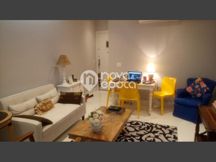 Leblon, 1 quarto, 57 m² Avenida Ataulfo de Paiva, Leblon,