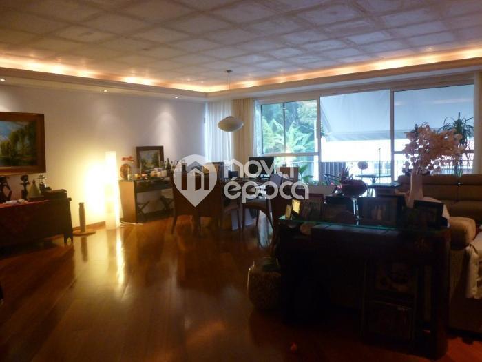 Leblon, 4 quartos, 2 vagas, 210 m² Rua Igarapava, Leblon,