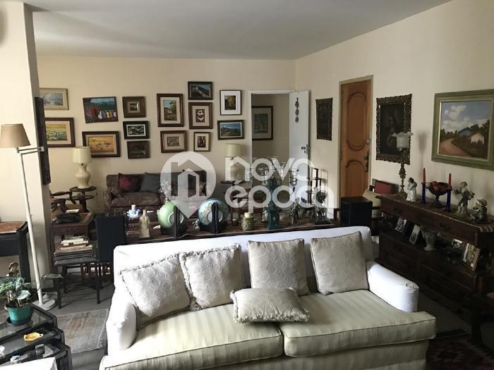 Leblon, 4 quartos, 3 vagas, 170 m² Rua Almirante Guilhem,