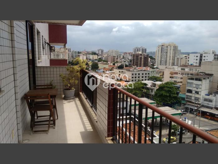 Méier, 2 quartos, 2 vagas, 82 m² Rua Aristides Caire,